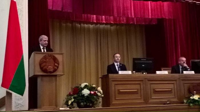 КБТЭМ-ОМО на II Съезд ученых Республики Беларусь