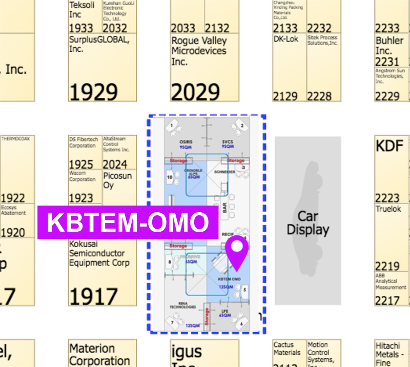 KBTEM-OMO JSC in SEMICON West 2018
