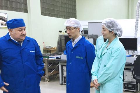 Представители компании MIC посетили ОАО «КБТЭМ-ОМО»