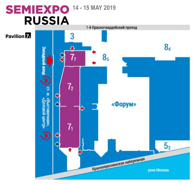 KBTEM-OMO at SEMIEXPO RUSSIA 2019