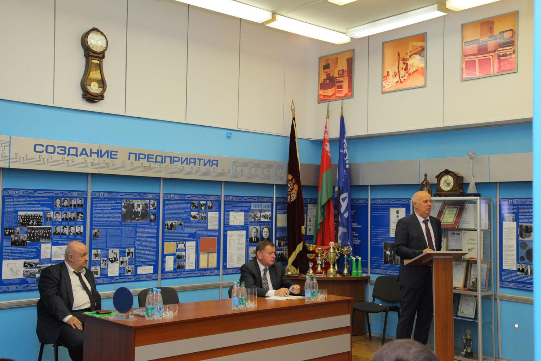 Председатель Мингорисполкома встретился с трудовым коллективом холдинга
