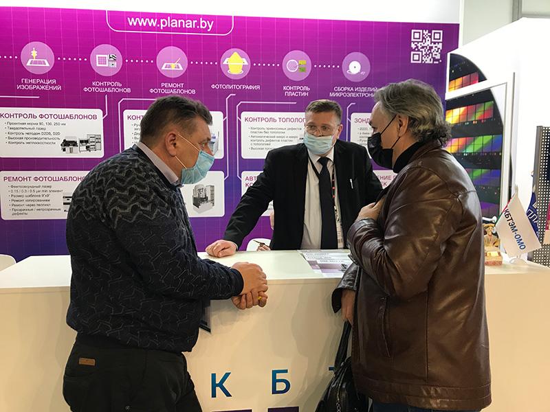ОАО «Планар» на выставке «ЭкспоЭлектроника/ЭлектронТехЭкспо 2021»