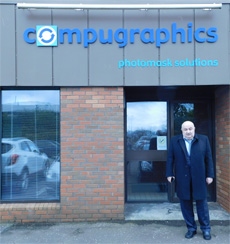 Director of KBTEM-OMO and Marketing Manager visited Compugraphics International Ltd facility at Glenrothes, Scotland