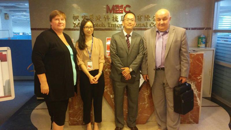 KBTEM-OMO JSC representatives visit MIC