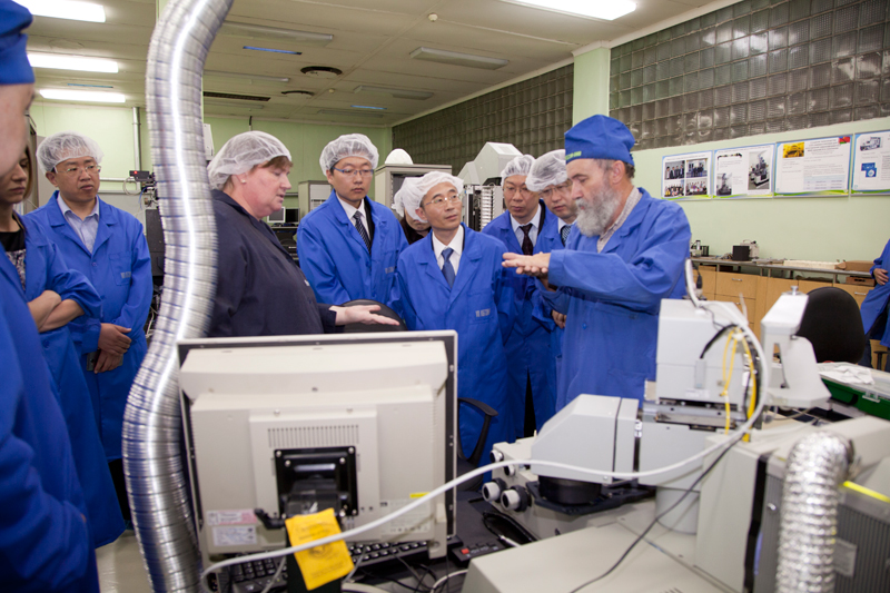 The delegation of Shanghai Municipal Science and Technology Commission visited KBTEM-OMO JSC